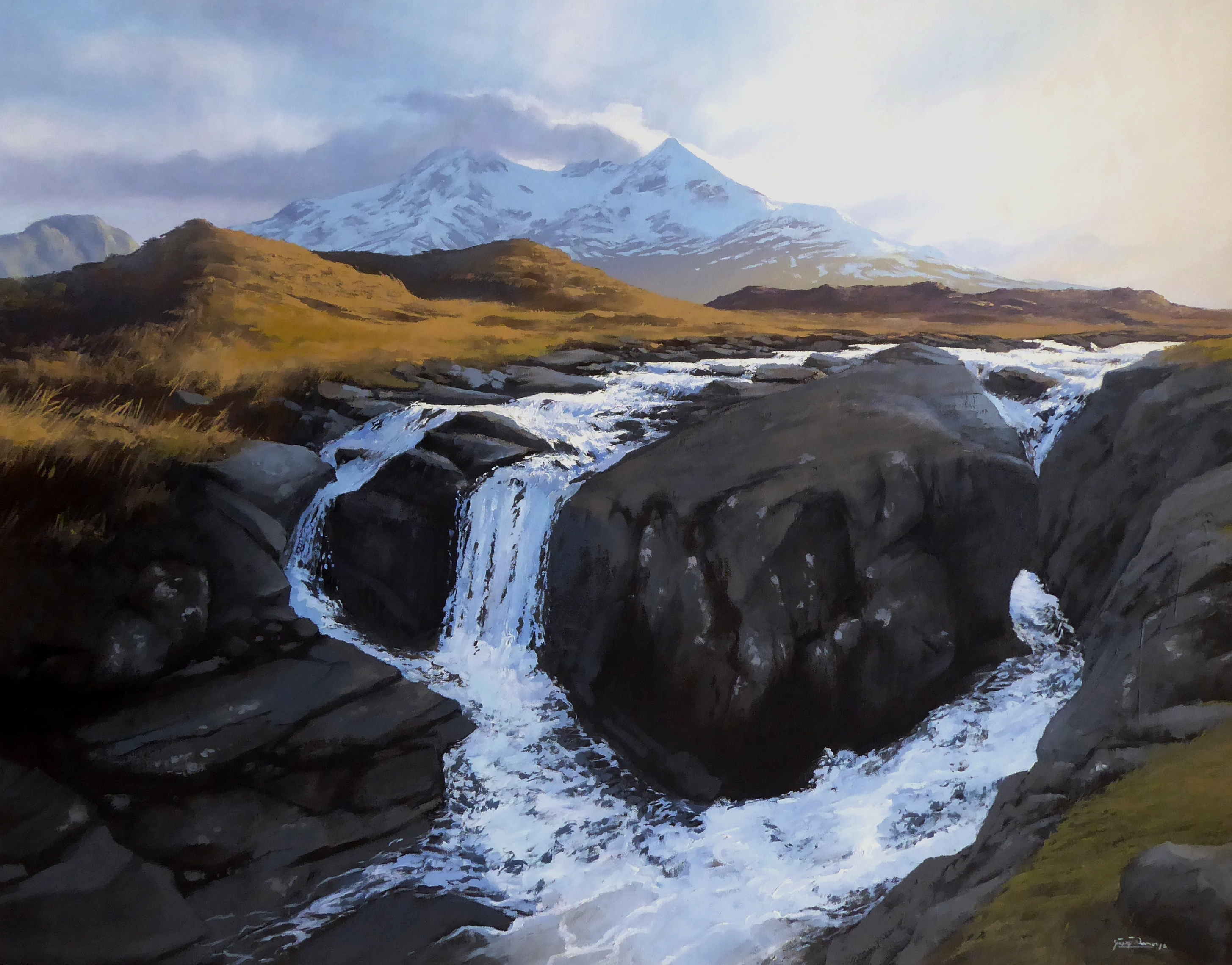 George Noakes_Evening Light Sligachan