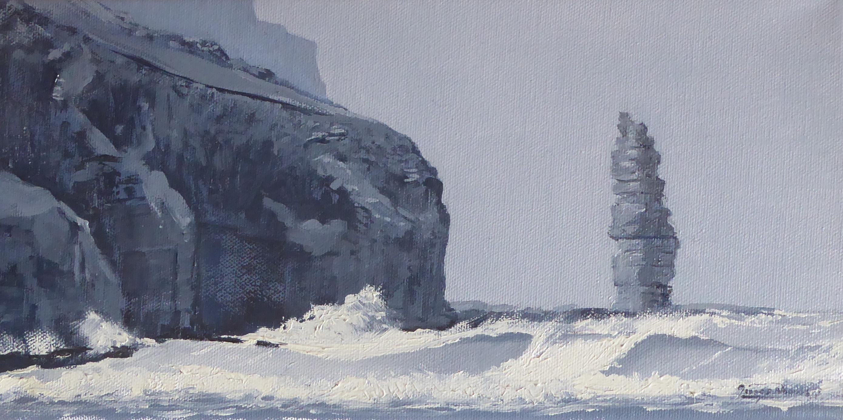 George Noakes_Sea Stack Sandwood Bay