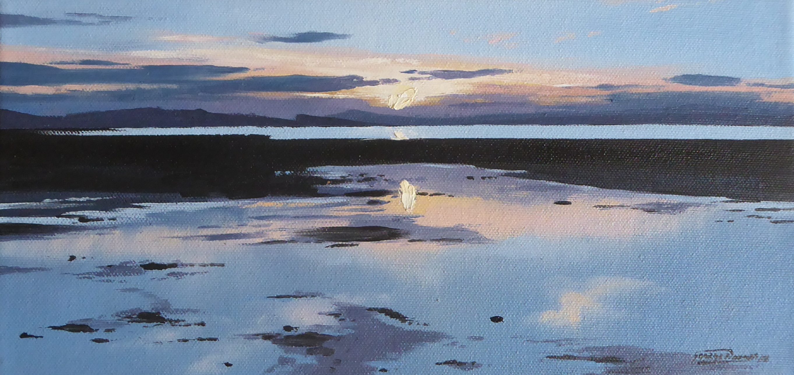 George Noakes_Sunset over the Tay 5