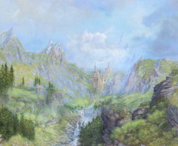 Alister Lindsay_Mountain Citadel_Oils_11x13.5