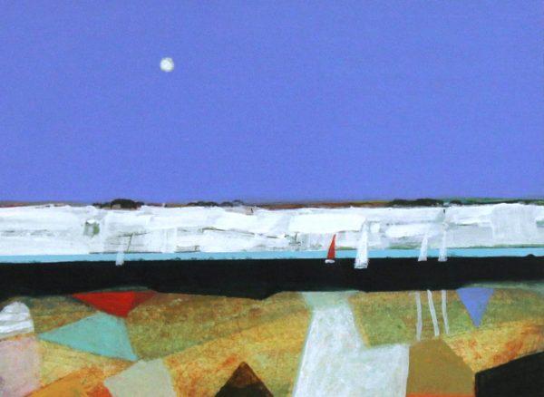 Archibald Dunbar MacIntosh_Yachting_6x8