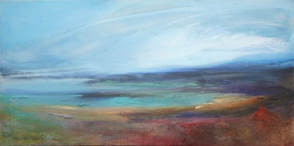 Beverley Waller_Land to Sea, 20x39