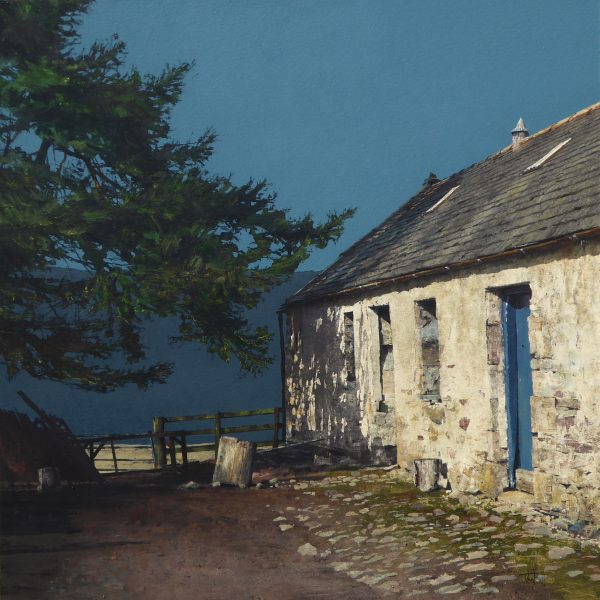 Croughly, Glen Livet (size 24 x 24 inches)