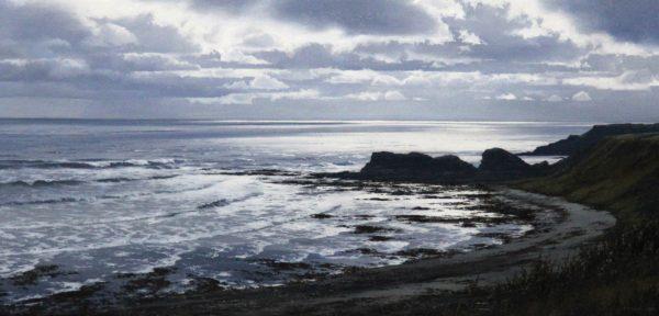 Ian Johnstone_Carlingheugh Bay I_Oils_9.5x19