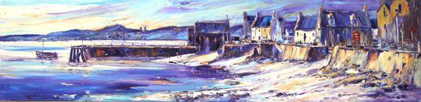 Jean Feeney_Ferry Evening_Oils_11.5x46.5_23x59 - Copy
