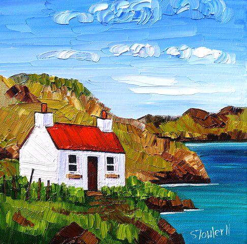 Sheila Fowler_Red Roof, Harris_10x10_16x16