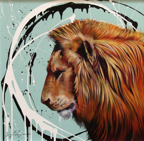 Simon Wright_African Majesty_Acrylic_23.5x23.5