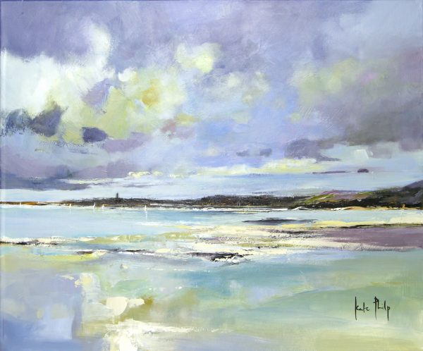 Kate Philp_Towards St Andrews_Oil_20x24
