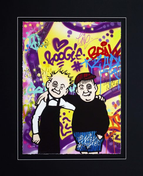 Sleek Studio_Oor Wullie and Fat Boab__21x15_31x25.5