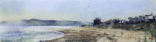 Graham Wands_The Esplanade_Watercolour_6x21.5