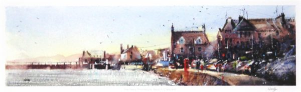 Graham Wands_The Ferry Phonebox, Beach Crescent_Signed Print_6x18.5