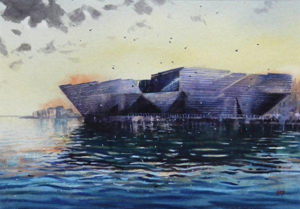 Graham Wands_V&A Dundee_Watercolour_13x18.5