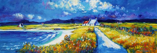 Jean Feeney_Autumn in Wester Ross_Oils_16x48