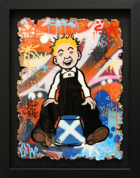 Sleek Studios_Wullie the Brave_Mixed Media_39X31