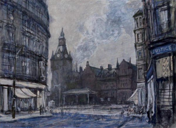Andrew Neilson_Whitehall Crescent and Old West Station, Dundee_image 7.5x10_F15x17