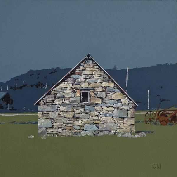 John Bell_Gable, Duirinish, near Plockton_Acrylic_18x18
