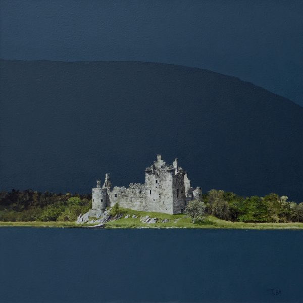 John Bell_Kilchurn Castle_Acrylic_ 24x24