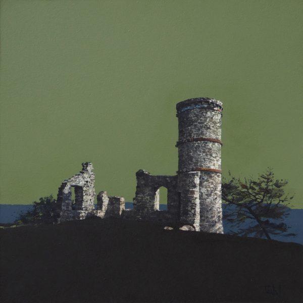 John Bell_Kinnoull Hill_Acrylic_18x18