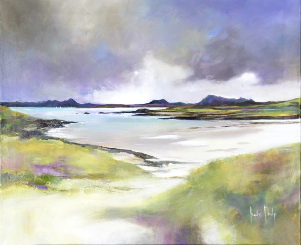 Kate Philp_Atutmn Sands, Mellon Udrigle_Oil_20x24_1200