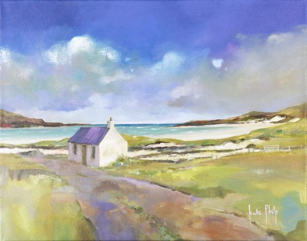 Kate Philp_Cottage on the Shore, Durness_Oil_16x20_950