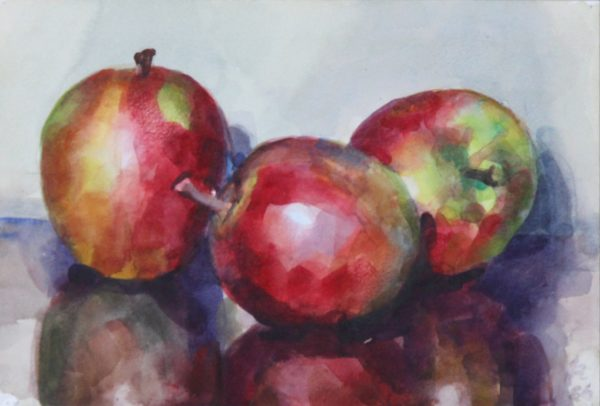 James Reville RSW_Watercolour_Fruit Piece_7x10.5_11x14.5_price_unframed