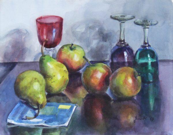 James Reville RSW_Watercolour_Reflected Colour_16x23.5_19.5x26.5_price_unframed