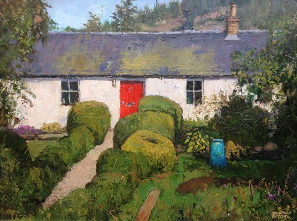 Johnathan Mitchell_A Cottage in Glenisla_825