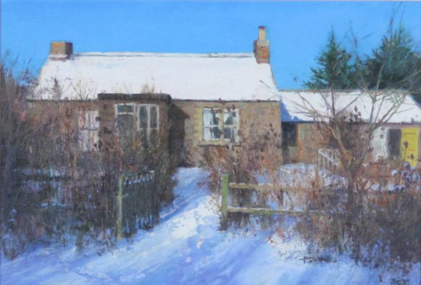 Johnathan Mitchell_Original_The Artists Cottage, Winter_850_unframed