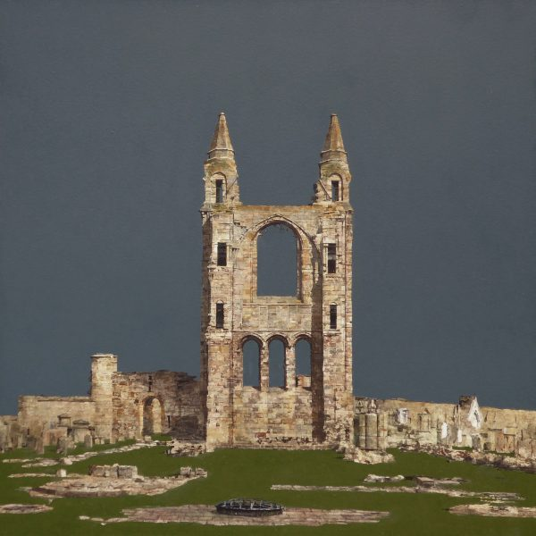 St Andrews Cathedral (size 24 x 24 inches)