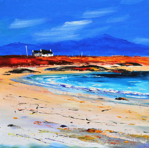 1.Autumn Light, Cottage at Gott Bay, Tiree