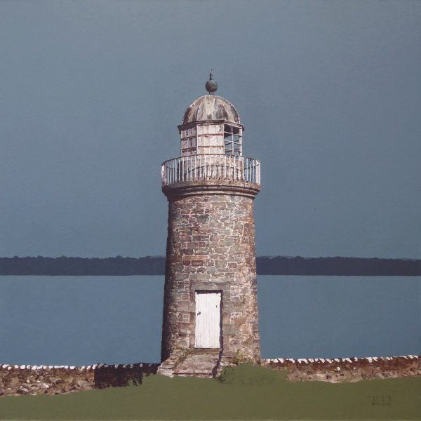 Low Lighthouse, Tayport (size 18 x 18 inches) unframed -1500