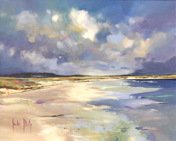 Kate Philp unframed 1_Clachan Sands, Uist_15.5x20_25x28.5