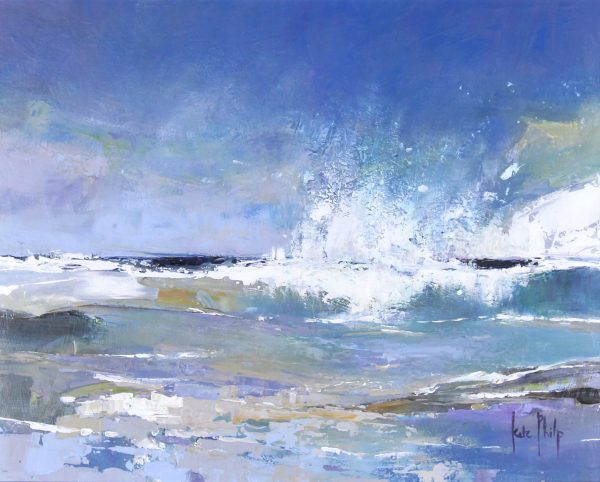 Kate Philp unframed 5_Hebridean Wave_15.5x19_24.75x24.5