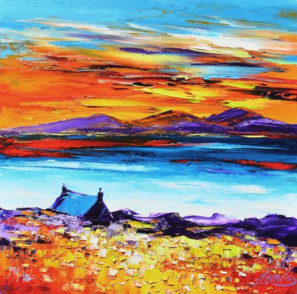 3.Luskentyre Sunset, Harris