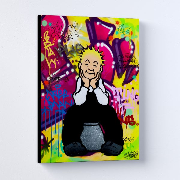 A'Body's Wullie Canvas Print