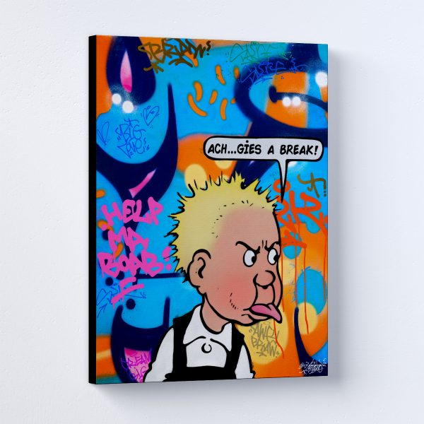 Cheeky Wullie Canvas Print