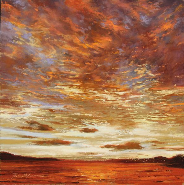 FIONA HALDANE_ORIGINAL_ 12x12_Threads of Evening, River Tay