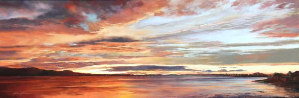 FIONA HALDANE_ORIGINAL_16x48_Breathless Colour, River Tay