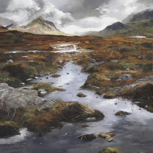 FIONA HALDANE_ORIGINAL_36x36_Pyramid of Skye
