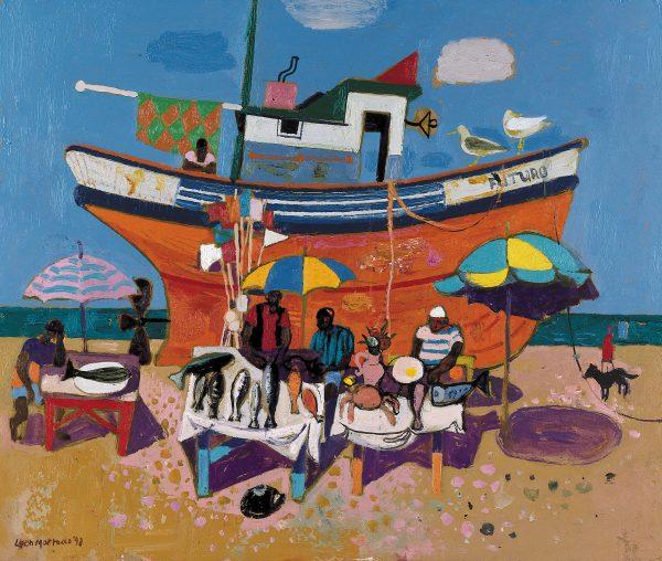 Leon morrocco_The Orange Boat_