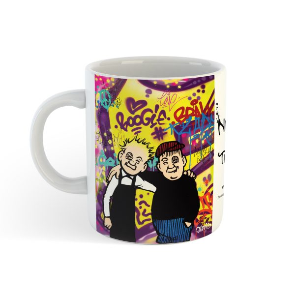 Oor Wullie and Fat Boab Mug