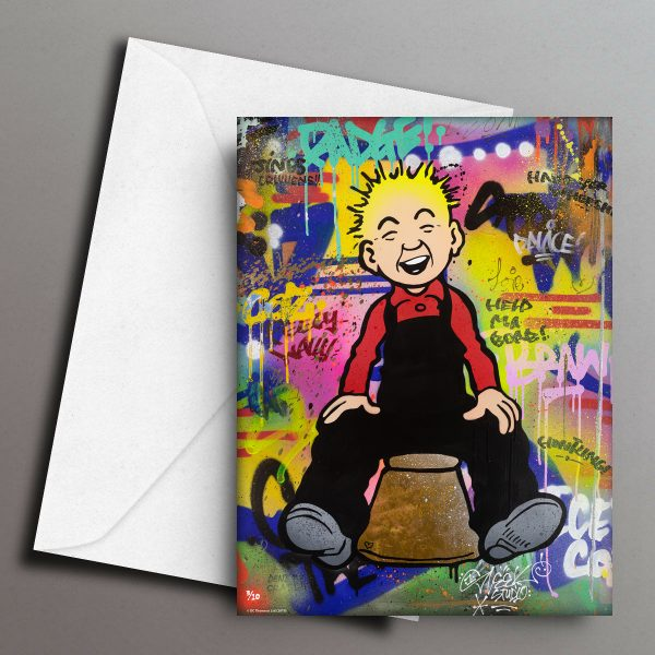 Oor Wullie...Braw Greeting Card Front
