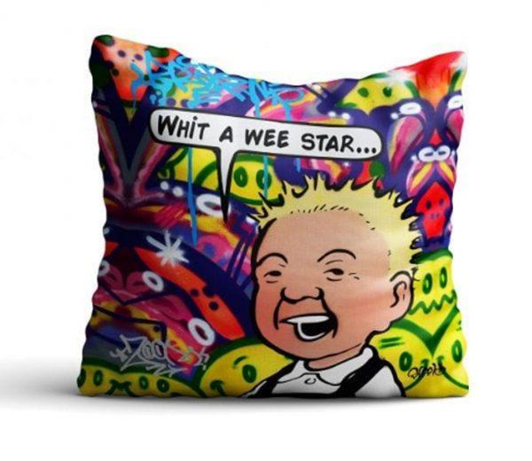Whit a wee star cushion_39.99