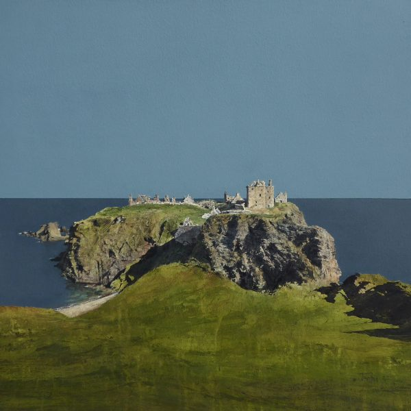 Dunnottar Castle (size 24 x 24 inches)