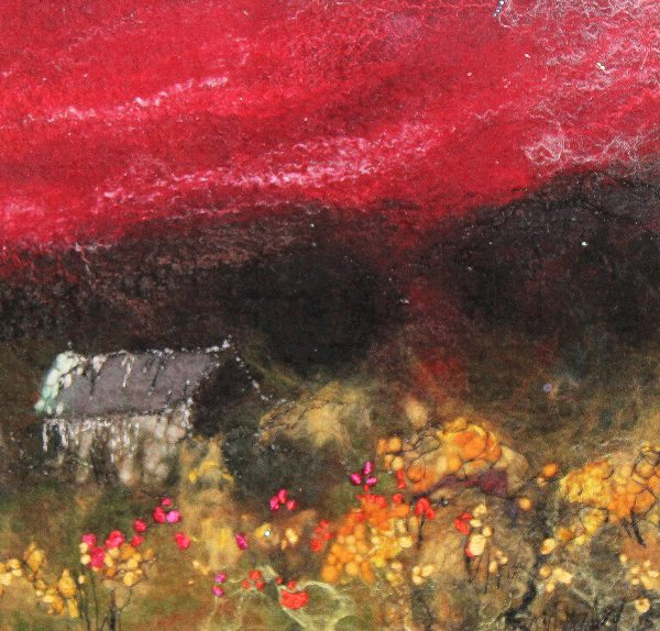 Moy Mackay_Ruby Red Sky_£240_8.5x8.5_11x11