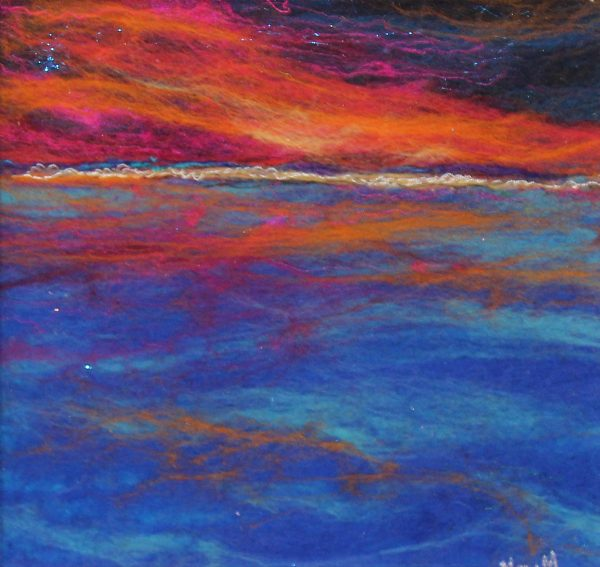 Moy Mackay_Sundown at Sea_£395_9x9_14x14
