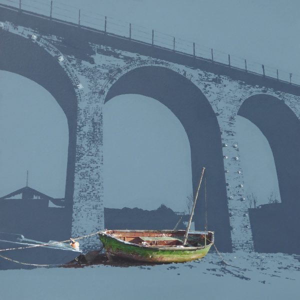 Under the Viaduct, Montrose Basin (size 24 x 24 inches)