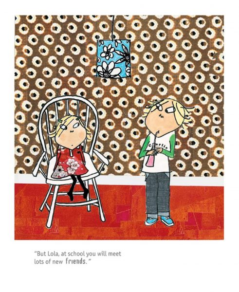 Charlie and Lola, School Friends