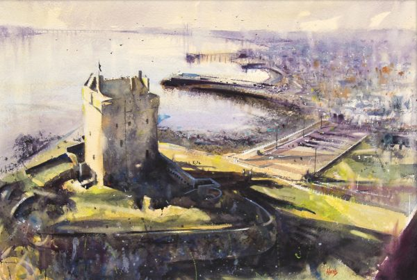GRAHAM WANDS_Broughty Ferry Castle_18x27_29x38_unframed_750