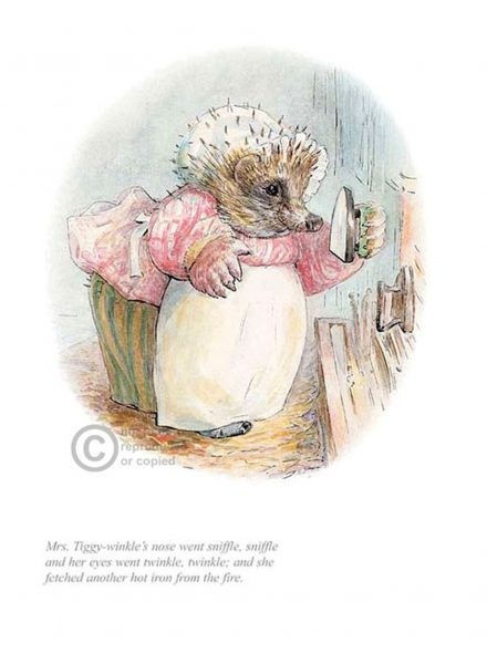 Mrs. Tiggy Winkle Went Sniffle, Sniffle